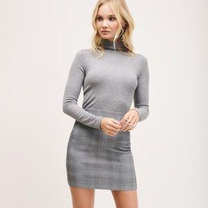 Dynamite ELLE Plaid Mini Skirt